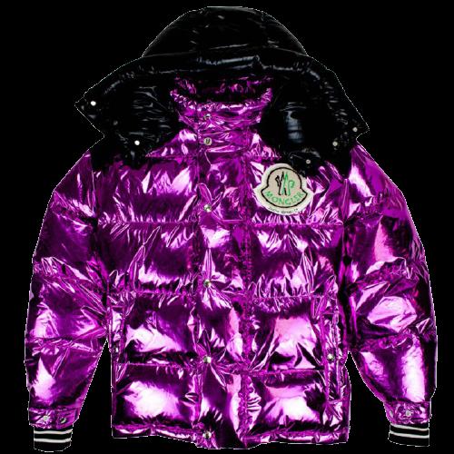 moncler purple jacket