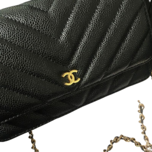 chanel wallet on
