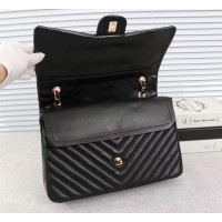 chanel flap bag with top handle