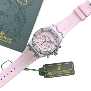 chanel pink watch