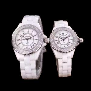 Chanel J12 white watch